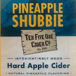 Pineapple Shubbie Hard Apple Cider