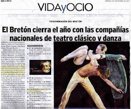 Photo: teatro Breton Logroño España