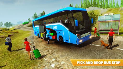 Offroad Bus Hill Driving Sim: Mountain Bus Racing 1.2 screenshots 12