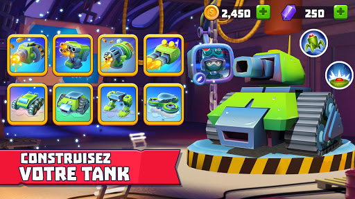 Tanks A Lot! - Realtime Multiplayer Battle Arena fond d'écran 2