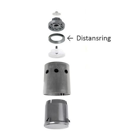 Distansring Hudson ventil