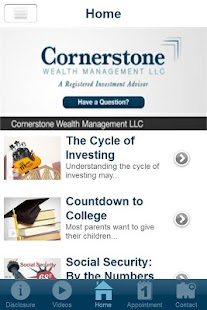 Cornerstone Wealth Management- screenshot thumbnail