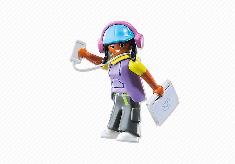 Contenido real de Playmobil® 6828 Multimedia Girl