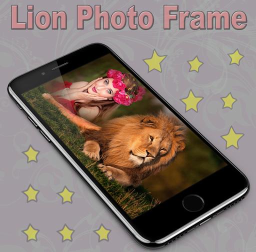 Lion Photo Frame 1.1 screenshots 4