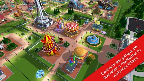 RollerCoaster Tycoon Touch Android screenshot