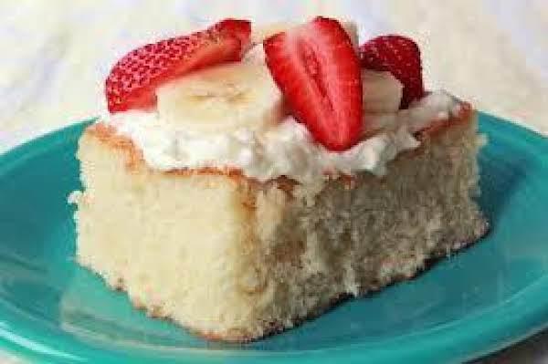 Delicious Hot Milk Sponge Cake