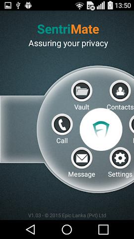 android Sentrimate Screenshot 0