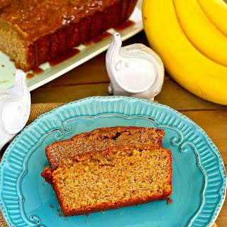 Salted Caramel Whole Wheat Banana Bread