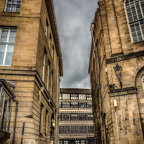 Between the walls by Davey T - City,  Street & Park  Historic Districts ( bessie surtees, quayside, newcastle, historical, north tyneside )