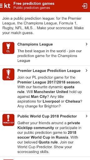 Kicktipp - Football predictor game and more  screenshots 2