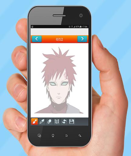 How to Draw Närütö Characters 1.1 screenshots 3