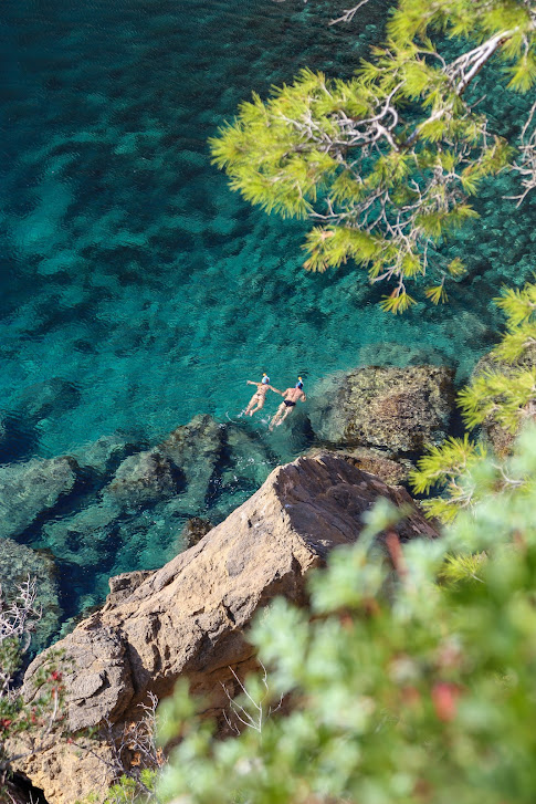 pływacy, Sa Foradada