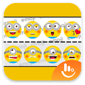 Hello Despicable Keyboard Sticker