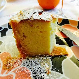 Semolina, Ricotta Cheese And Coconut Cake.