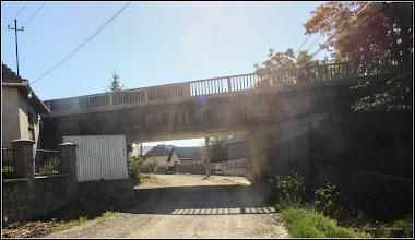 Photo: Str. Alba Iulia - pod peste Str. Cheii - vedere de pe Str. Cheii - 2017.07.18