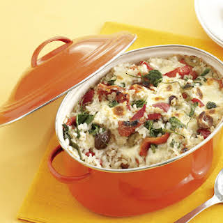 Baked Greek-Style Risotto.