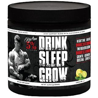 Rich Piana Drink Sleep Grow