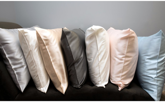 Pure 22 Momme Silk Pillowcase available in 6 colors