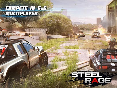 Steel Rage Robot Cars Mod Apk 0.166 (UNLIMITED AMMO, NO RELOAD) 7