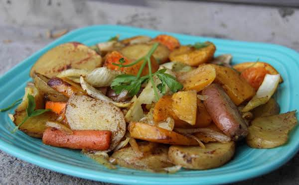 Roasted Root Vegetable Medley With Za'atar