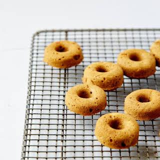 MINI MAPLE SPICED DOUGHNUTS WITH MOLASSES GLAZE (Gluten & dairy-free).