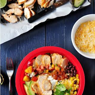 Grilled Chicken Burrito Bowl.