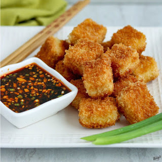 Crispy Pan-Fried Tofu.