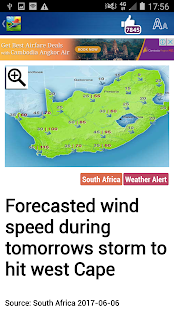 South Africa Weather - náhled