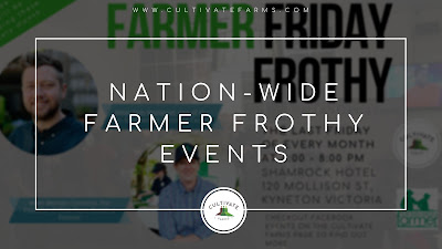 Nation-wide Farmer Frothy Events
