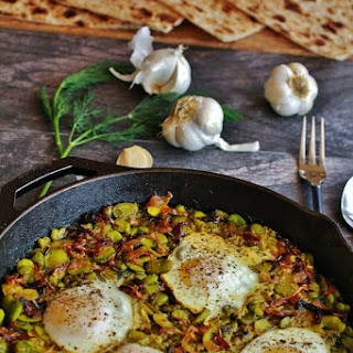 BAGHALI GHATOGH | FAVA BEANS with DILL Recipe