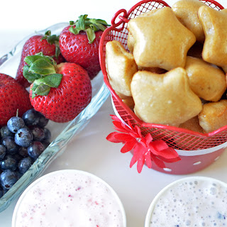 Pretzel Bites and Fruit Dip