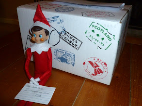 Photo: December 15 - breaking off his engagement with the Tooth Fairy as a mysterious box arrives