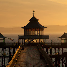 End of the Pier by Andro Andrejevic - Buildings & Architecture Public & Historical ( uk, north somerset, clevedon pier, historical )