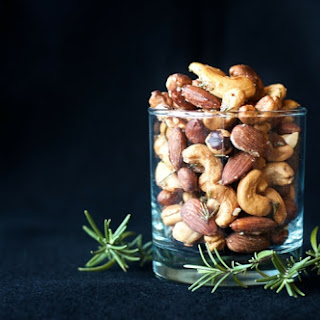 Savory Rosemary Mixed Nuts.