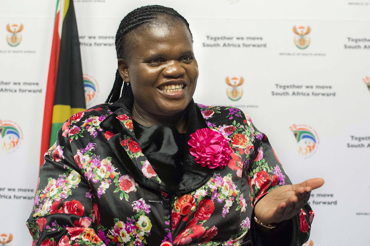 Minister Faith Muthambi. Picture: TREVOR SAMSON