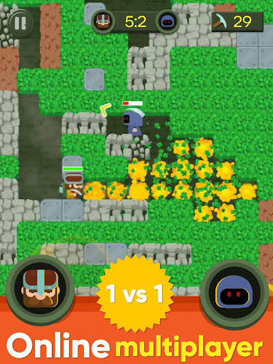Dig Bombers: PvP multiplayer digging fight 3.3.3 screenshots 14