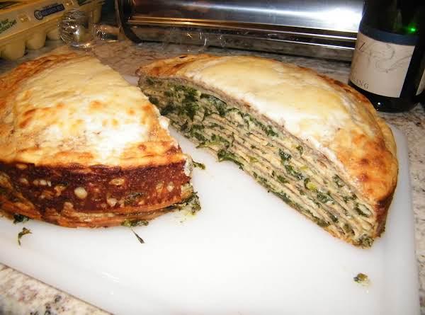 Crepes Florentine Recipe