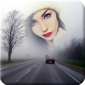 Highway Photo Frame