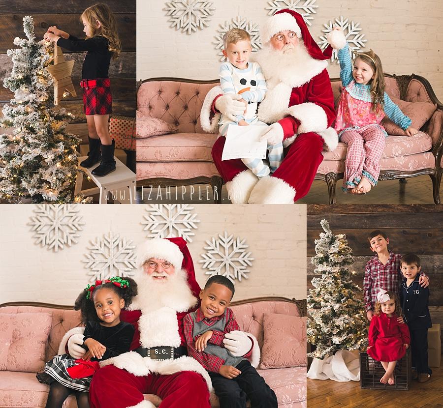 Santa Session Promo Photo