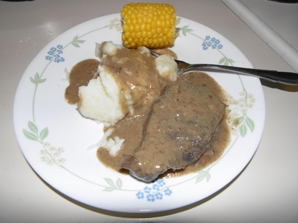 Slow Cooker Smothered Steaks Recipe