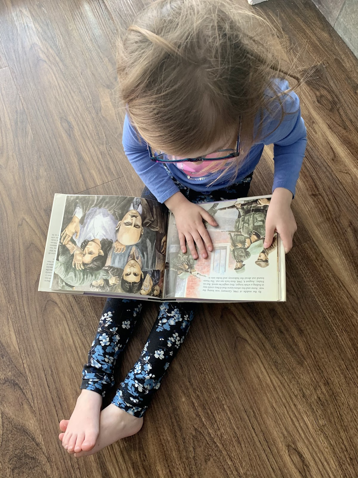 even after your four year old is reading fluently, picture books are important to comprehension