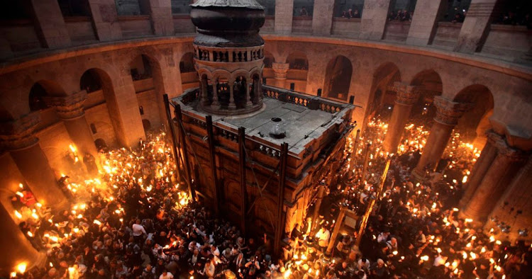 The Holy Fire (Sabt ul Nur) ceremony in Jerusalem has always been a major community event for Christians in Palestinians, but only a few hundred Palestinians made it to the Church of the Holy Sepulchre for the ceremony last year due to Israeli restrictions on freedom of movement