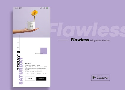 Flawless KWGT 10.0 Paid Latest APK Free Download 5