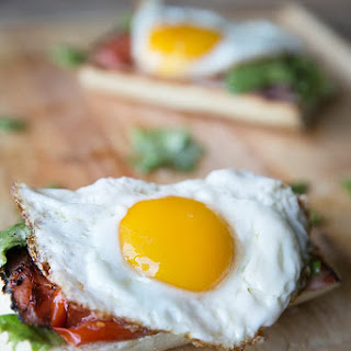 Open Face Egg Sandwich Recipe