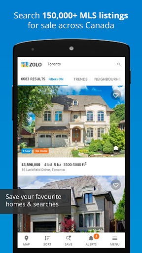 Real Estate in Canada by Zolo 1.4.8 Screenshots 11