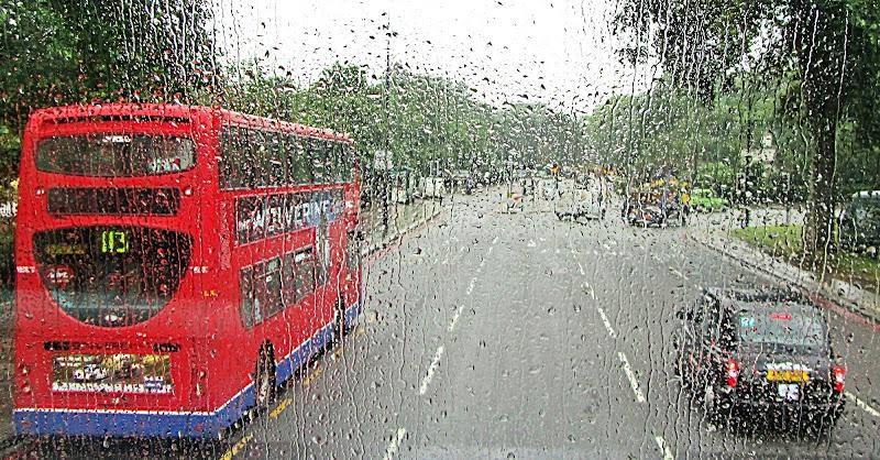 Rainy London di Carmelo Vecchio