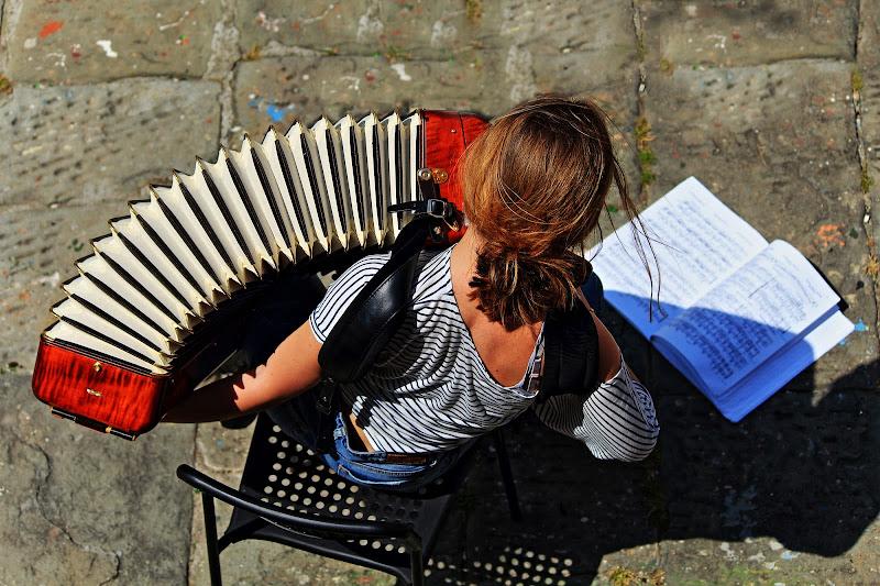 la fisarmonicista di Emme Photo