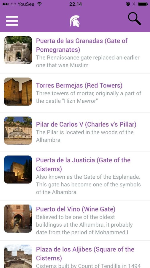 Guide to the Alhambra- screenshot