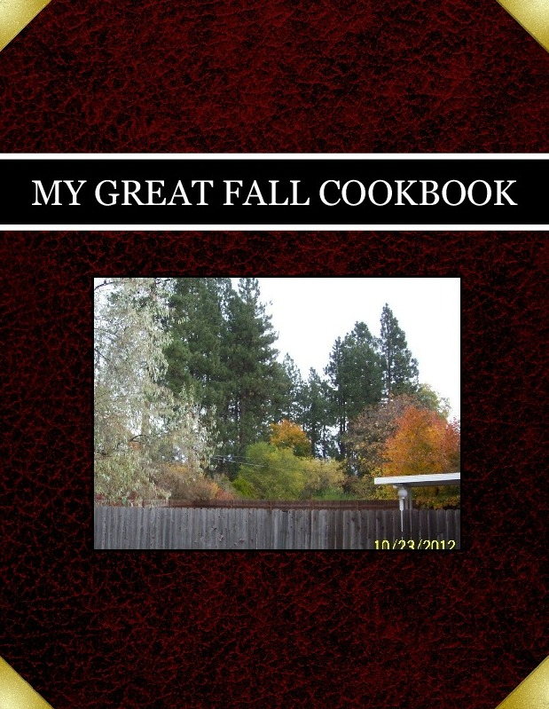 MY GREAT FALL COOKBOOK