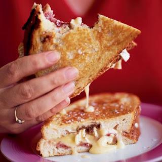 Pan-fried Camembert Sandwich.